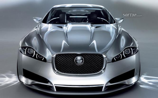 Amazing Jaguar Cars Screensaver Screenshot 3