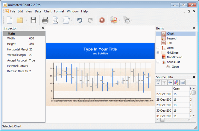 Animated Chart Pro Screenshot 1