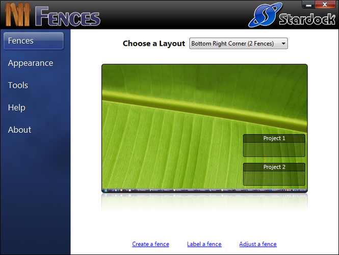 Fences Screenshot