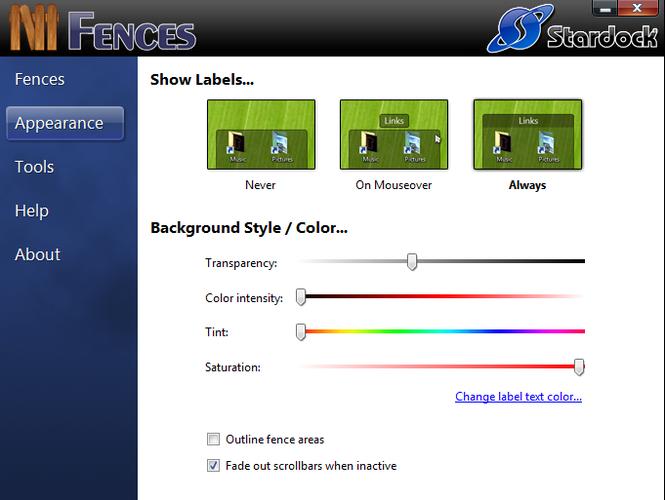 Fences Screenshot 2