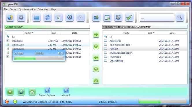 Upload FTP Screenshot 4