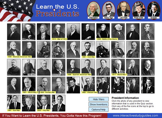 Learn the U.S. Presidents Screenshot 1