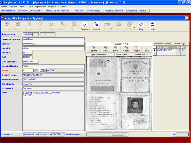EasyDoc Screenshot