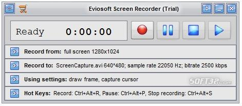 Eviosoft Screen Recorder Screenshot 2