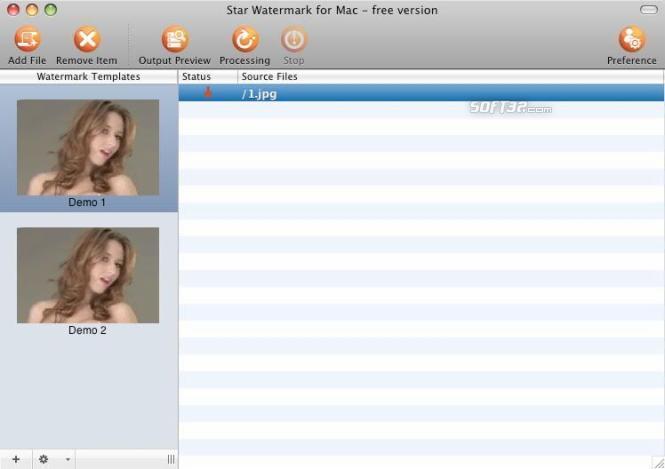 Star Watermark for Mac Screenshot 2