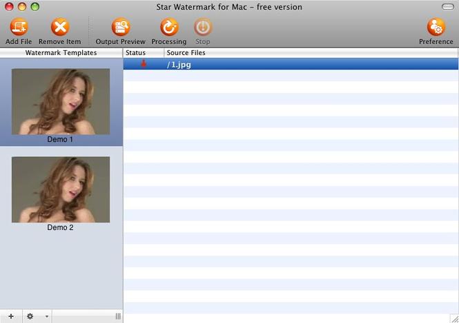 Star Watermark for Mac Screenshot 3