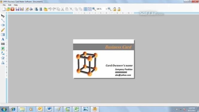 Business Card Maker Software Screenshot 3
