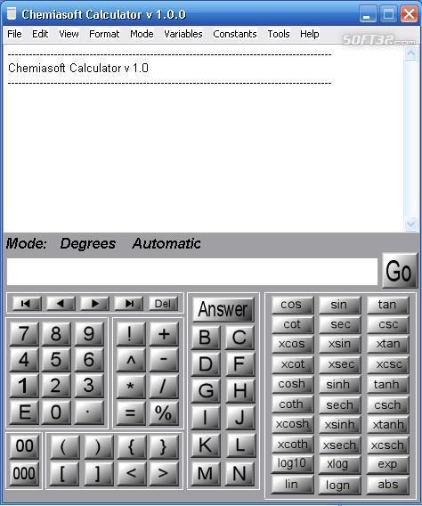 Chemiasoft Calculator Screenshot 3