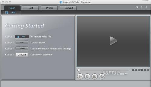 AuKun HD Video converter for Mac Screenshot 3