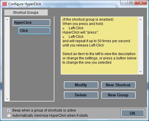 HyperClick II Screenshot