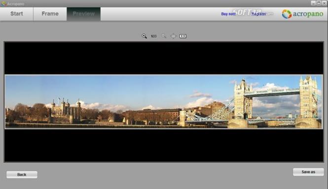 AcroPano Panorama Creator Screenshot 3