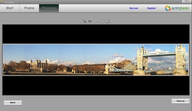 AcroPano Panorama Creator Screenshot