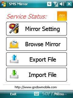 GodswMobile SMS Mirror Screenshot 3