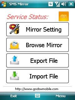 GodswMobile SMS Mirror Screenshot 1