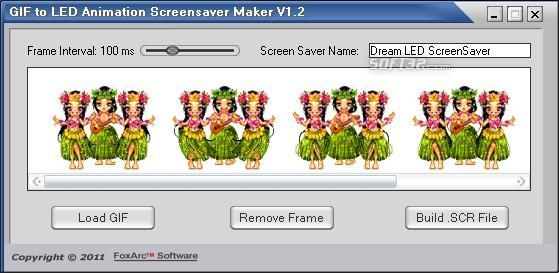 GIF to LED Animation Screensaver Maker Screenshot 3