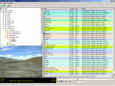 Toolsoft Video Player Screenshot