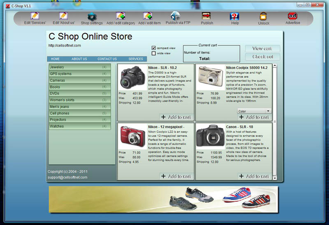 C Shop Screenshot 2