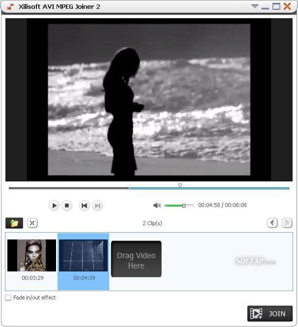 Xilisoft AVI MPEG Joiner for Mac Screenshot 3