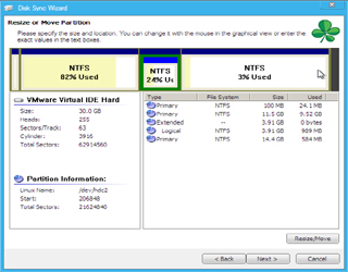 Keriver Disk Sync Screenshot