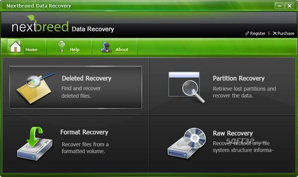 NextBreed Data Recovery Screenshot 2