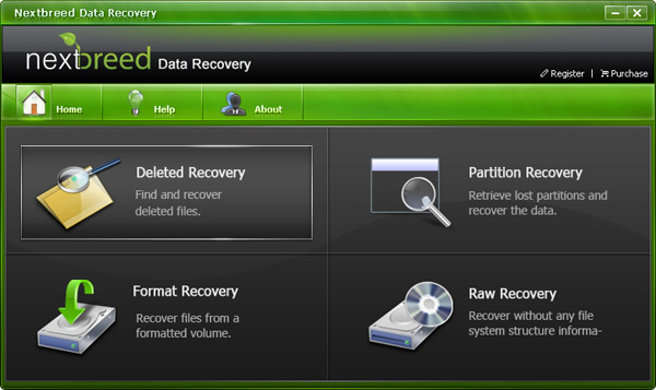 NextBreed Data Recovery Screenshot
