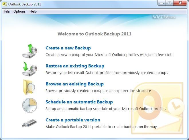 Outlook Backup 2011 Screenshot 3