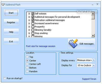 Subliminal Flash Screenshot 2