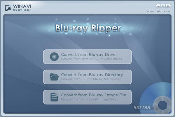 WinAVI Blu-ray Ripper Screenshot 2