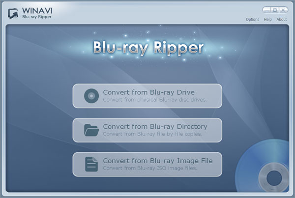 WinAVI Blu-ray Ripper Screenshot