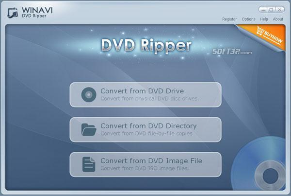 WinAVI DVD Ripper Screenshot 2