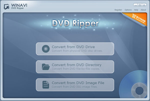 WinAVI DVD Ripper Screenshot