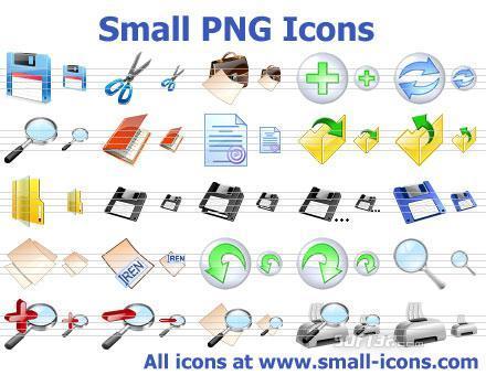 Small PNG Icons Screenshot 2