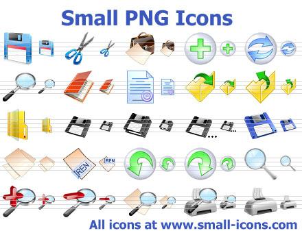 Small PNG Icons Screenshot