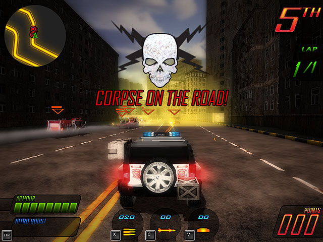 Apocalypse Motor Racers Screenshot 1