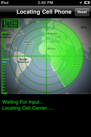 Cell Spy Pro: The Cell Phone Tracker Screenshot