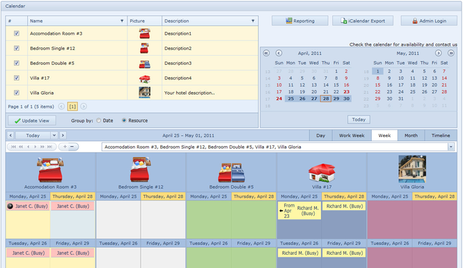 Online Hotel Booking System Screenshot