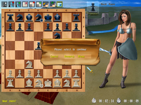 Amazon Chess II Screenshot