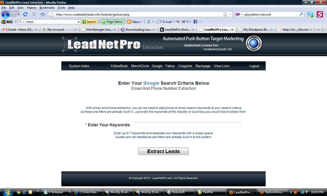 LeadNetProBeta Screenshot 1