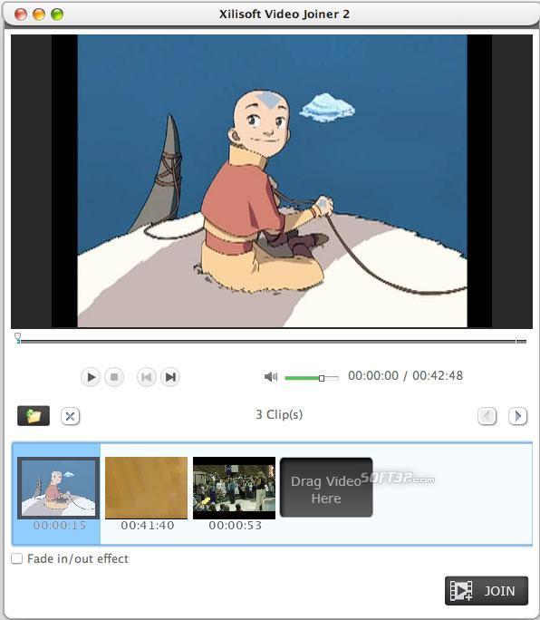 Xilisoft Video Joiner for Mac Screenshot 3
