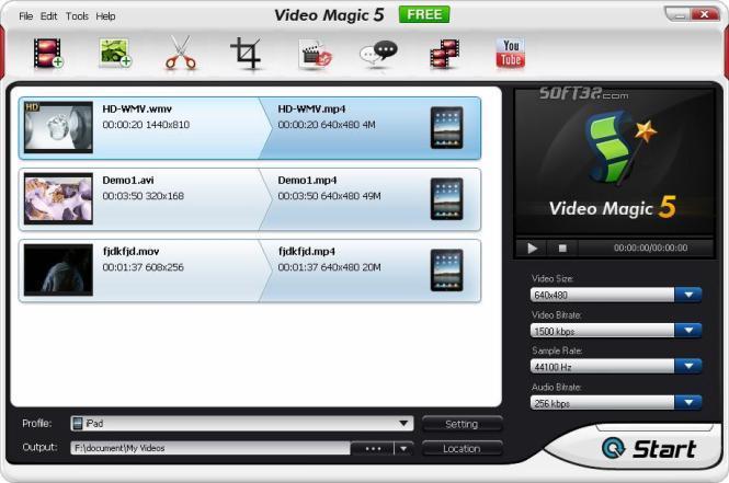 Video Magic Free Screenshot 2