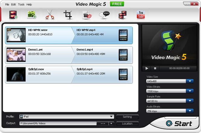 Video Magic Free Screenshot