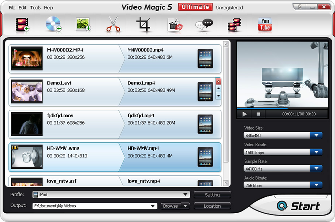Video Magic Ultimate Screenshot