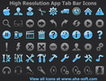 High Resolution App Tab Bar Icons 1