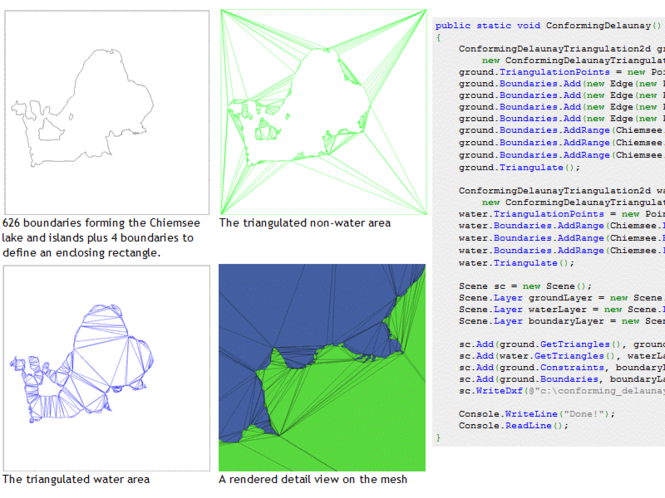 G# geometry libraries for .NET Screenshot