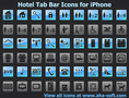 Hotel Tab Bar Icons for iPhone 1