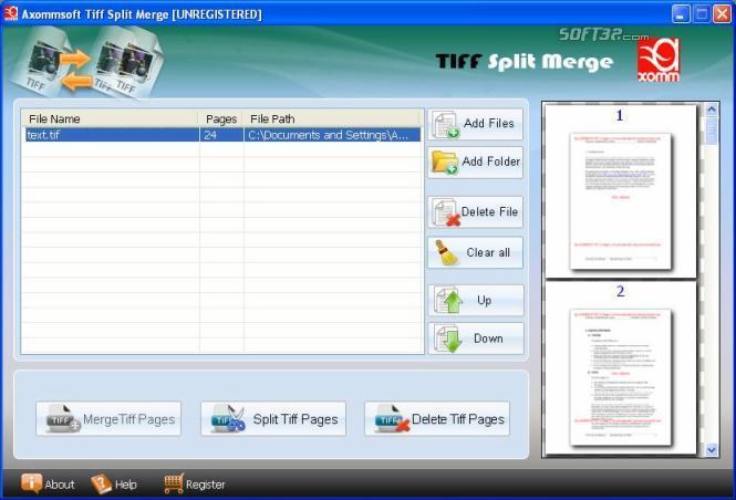 TIFF Joiner Splitter Screenshot 2