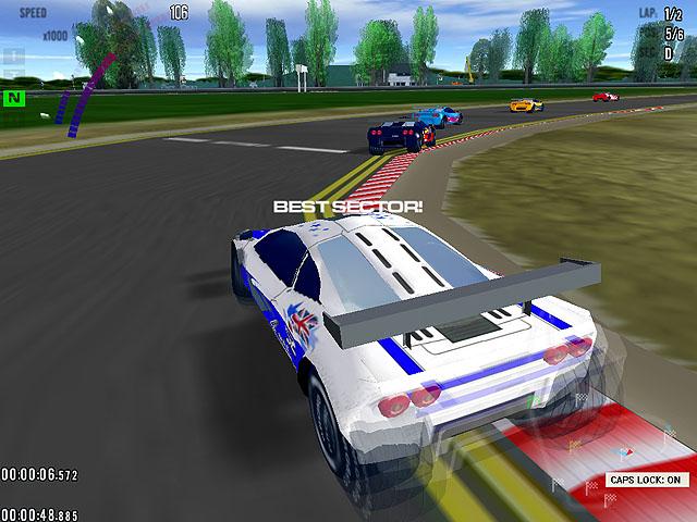 Grand Prix Racing Screenshot 2