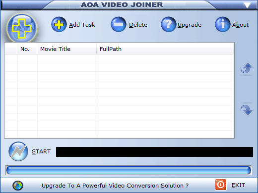 AoA Video Joiner Screenshot