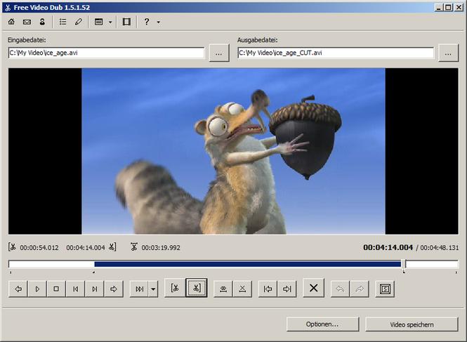 Free Video Dub Screenshot 1