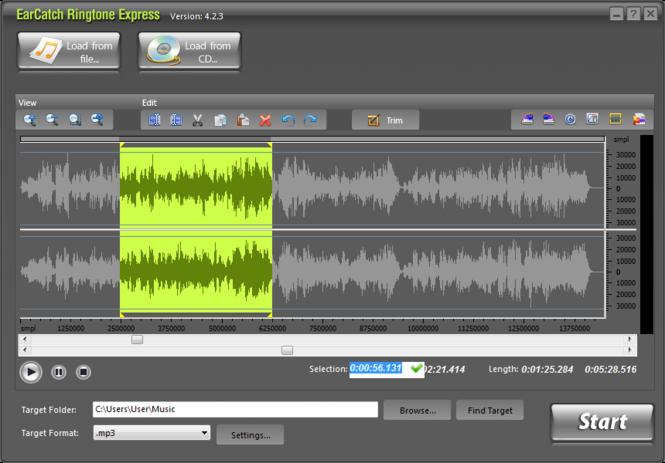 EarCatch Ringtone Express Screenshot 1
